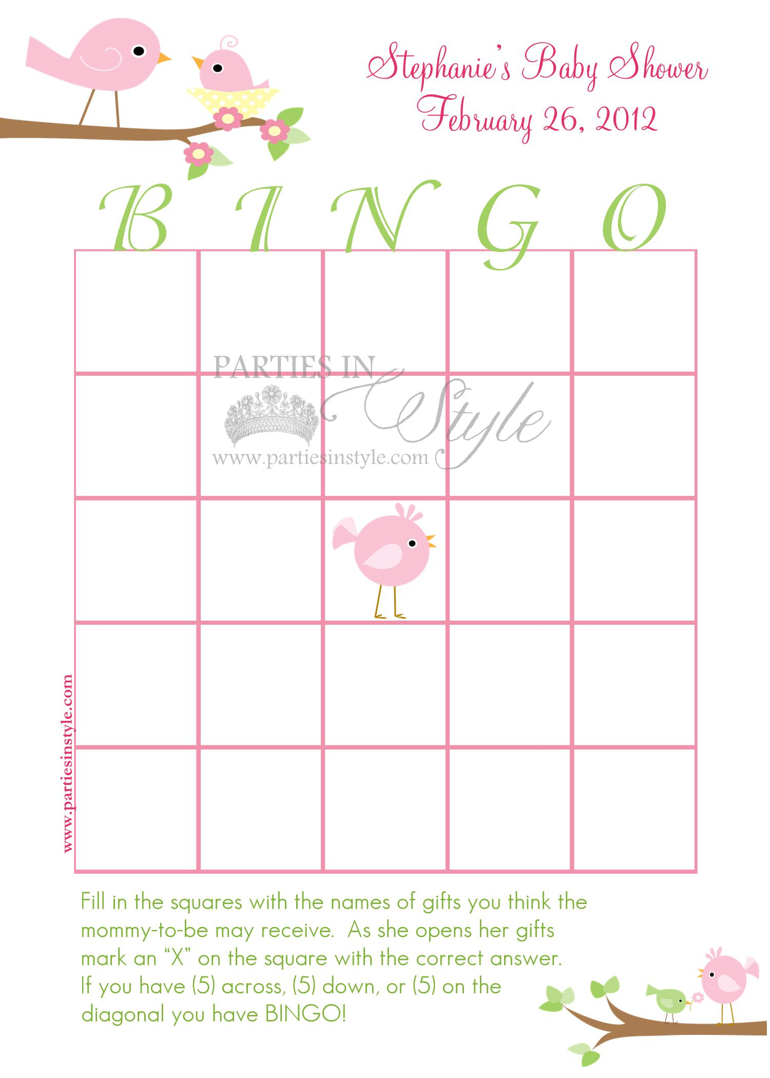 baby shower game bingo printable diy 5 reviews baby shower game bingo